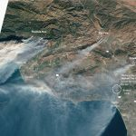 As Southern California Fires Rage On, Here's How You Can Prepare   California Wildfire Satellite Map