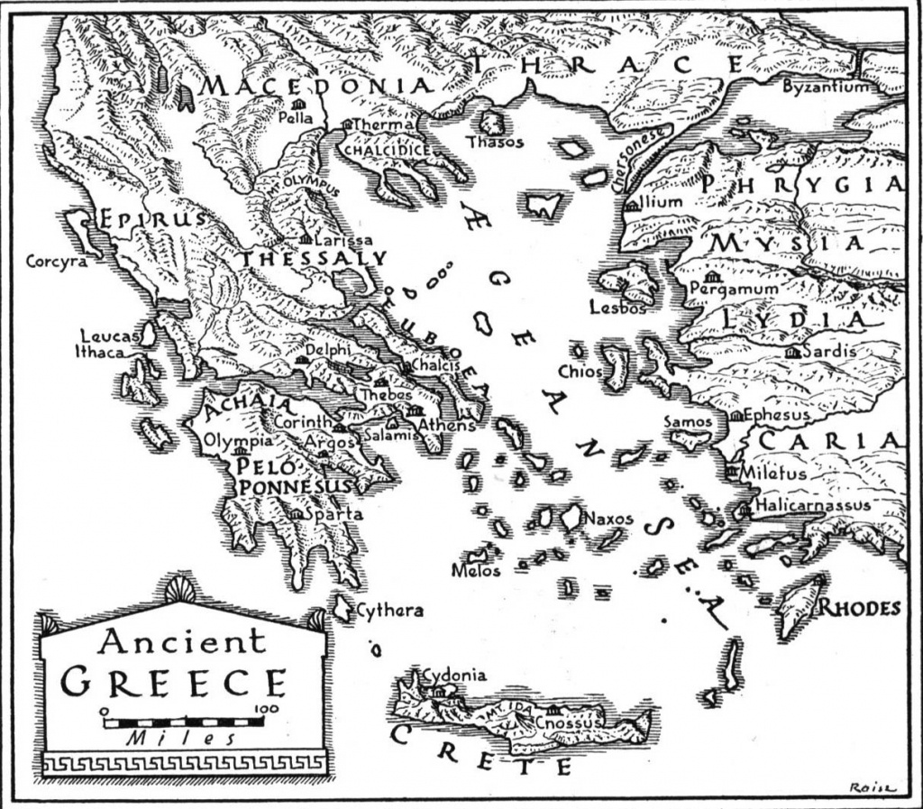 Ashbrookmythology [Licensed For Non-Commercial Use Only] / Ancient - Map Of Ancient Greece Printable