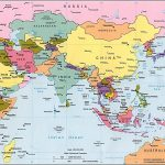 Asia Maps With Countries And Capitals Simple Printable Map Pikku Of   Printable Map Of Asia With Countries And Capitals