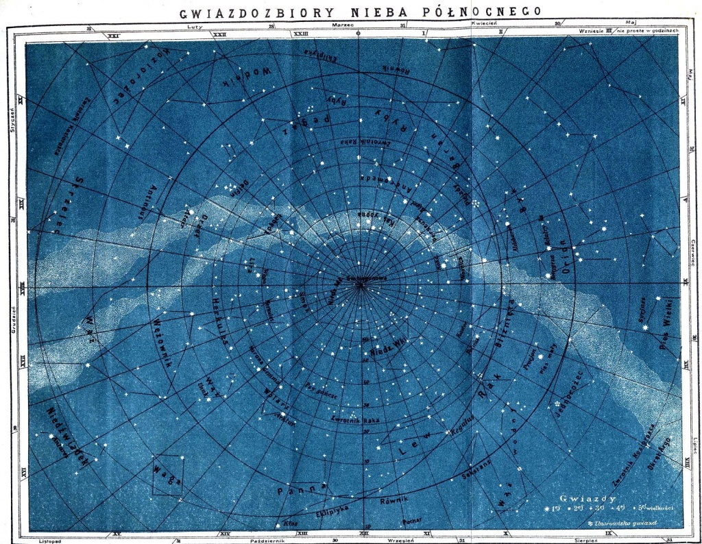 Astronomy Map Printable (Page 3) - Pics About Space | Celestial In - Printable Constellation Map