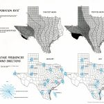 Atlas Of Texas   Perry Castañeda Map Collection   Ut Library Online   Texas Wind Direction Map