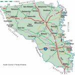 Austin County | The Handbook Of Texas Online| Texas State Historical   Austin County Texas Map