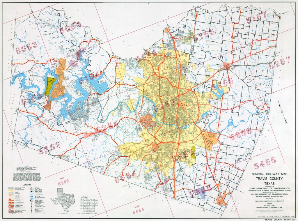 Austin, Texas Maps - Perry-Castañeda Map Collection - Ut Library Online - Texas Flood Zone Map 2016