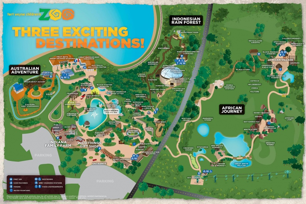 Australia Zoo Map - Zoos In Florida Map