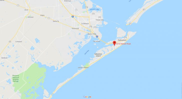 Google Maps Galveston Texas