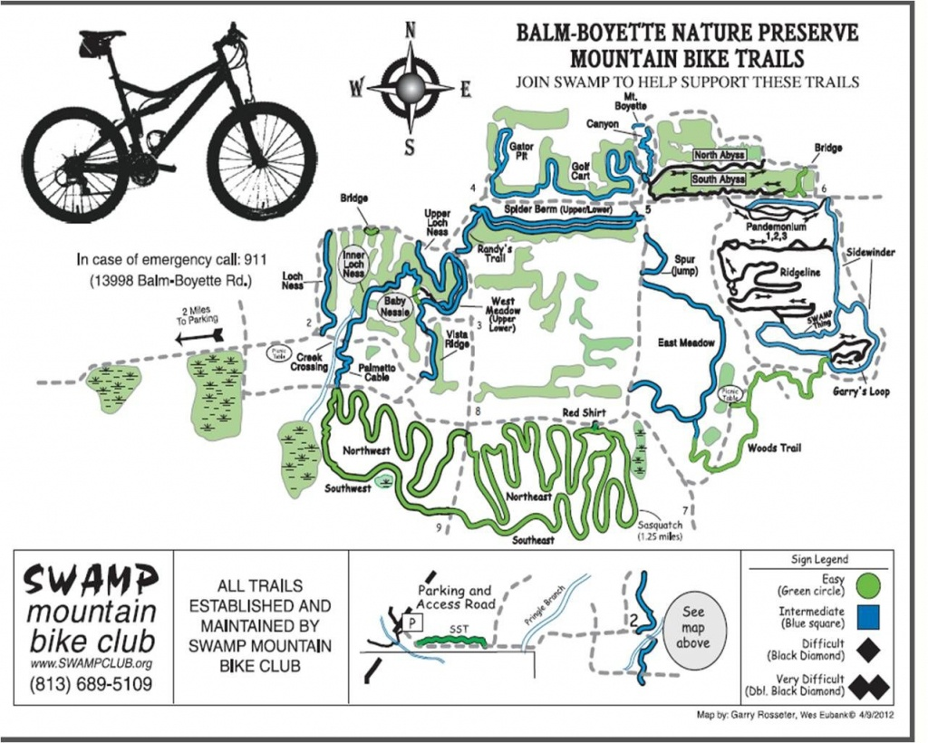 Balm Boyette: Mtb Trails Near Tampa, Florida | Mountain Biking - Florida Mountain Bike Trails Map