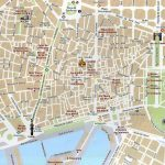 Barcelona Attractions Map Pdf   Free Printable Tourist Map Barcelona   Barcelona Street Map Printable