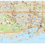 Barcelona City Map   Printable Map Of Barcelona