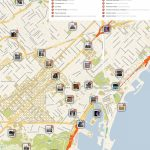 Barcelona Printable Tourist Map In 2019 | Barcelona | Barcelona   Printable Map Of Barcelona