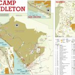 Base Maps — Mccs Camp Pendleton   Del Mar California Map