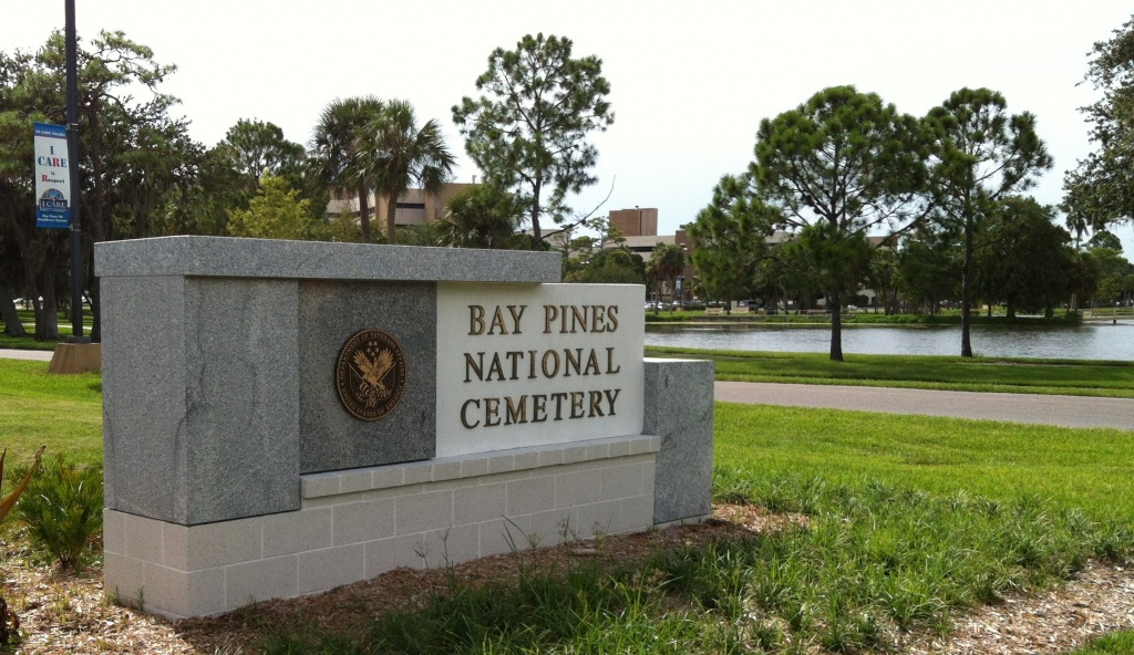 Bay Pines National Cemetery In Bay Pines, Florida - Find A Grave - Florida National Cemetery Map
