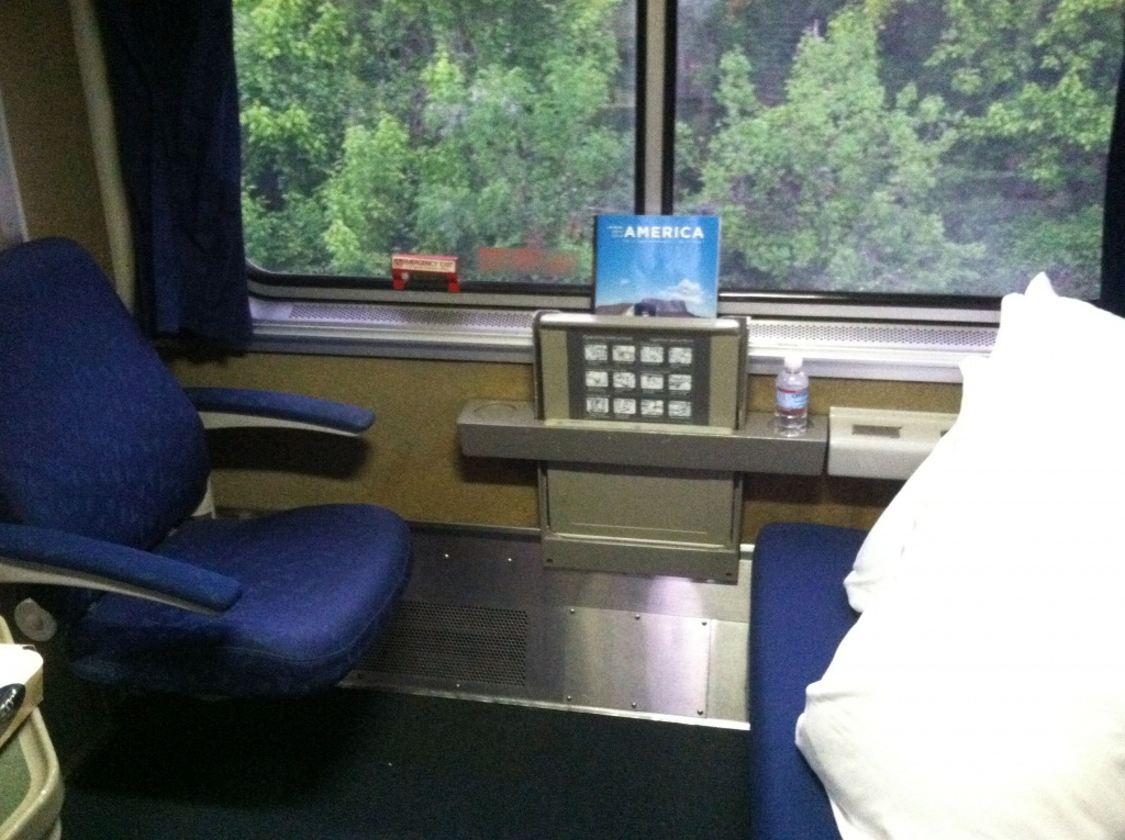 Bedroom Sleeper On The Texas Eagle | Amtrak Texas Eagle In 2019 - Texas Eagle Train Route Map