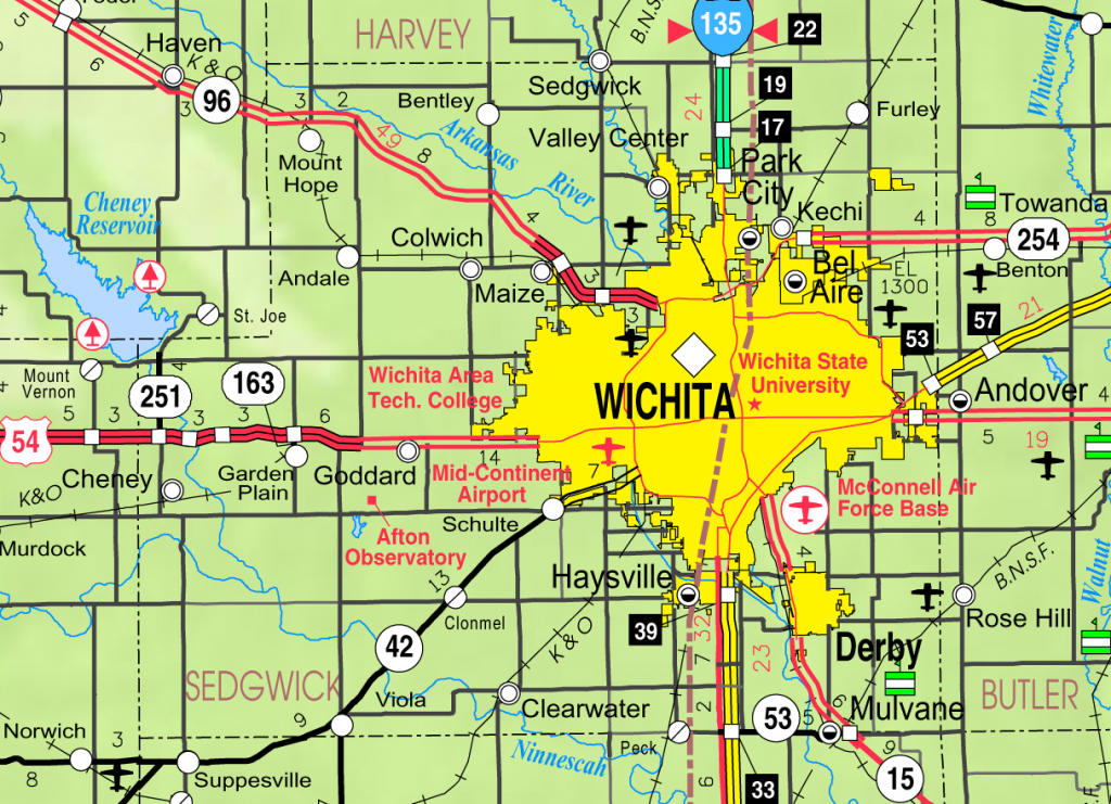 Bel Aire, Kansas - Wikipedia - Printable Street Map Of Wichita Ks