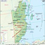 Belize Map | Map Of Belize   Download Maps Of Belize   Printable Map Of Belize