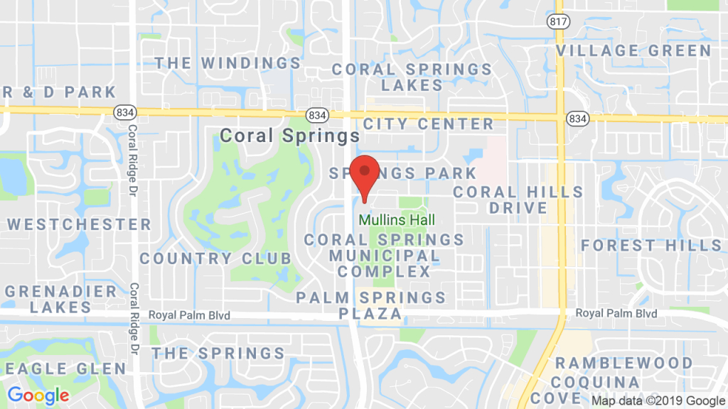 Benise At Coral Springs Center For The Arts - Mar 2, 2019 - Coral - Map Of Florida Showing Coral Springs