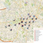 Berlin Printable Tourist Map | Sygic Travel   Printable Map Of Berlin