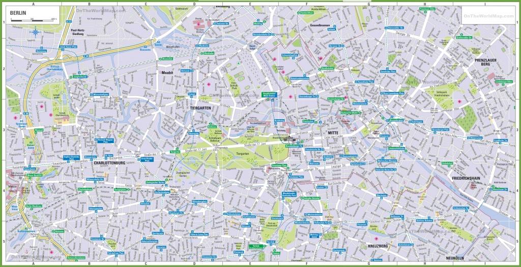 Berlin Tourist Map - Berlin Tourist Map Printable