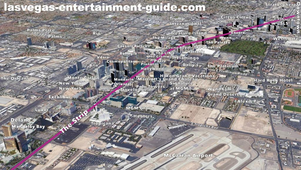 Best Las Vegas Strip Maps - Free Printable Map Of The Las Vegas Strip
