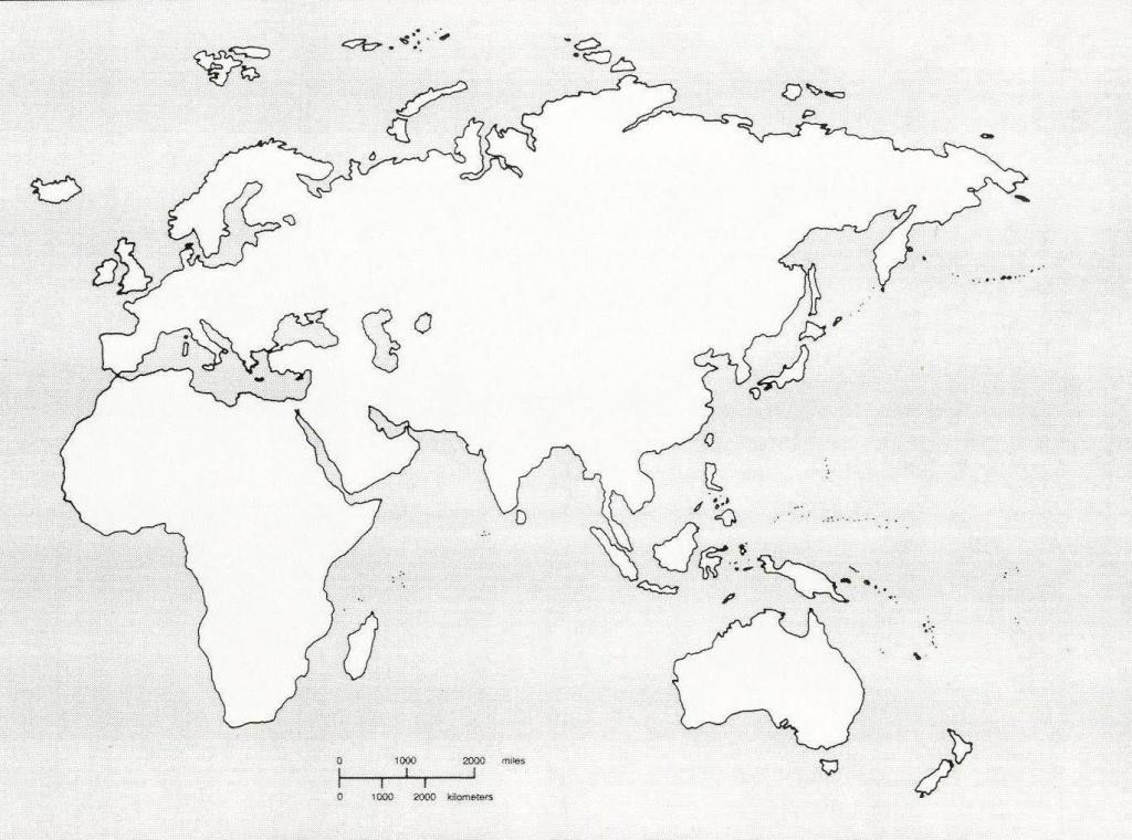 Best Photos Of Blank Map Of Eastern Hemisphere - Blank Map Of - Eastern Hemisphere Map Printable