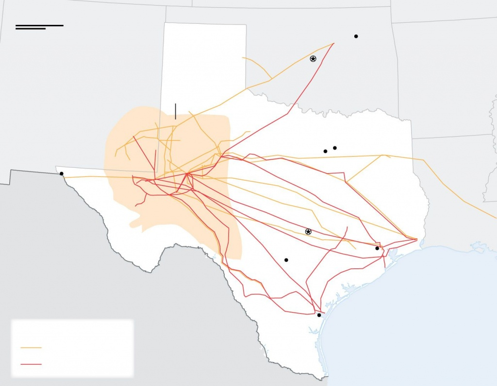 Bigger Oil Pipelines Are Coming To West Texas To Ease Bottleneck - Wsj - Texas Pipeline Map