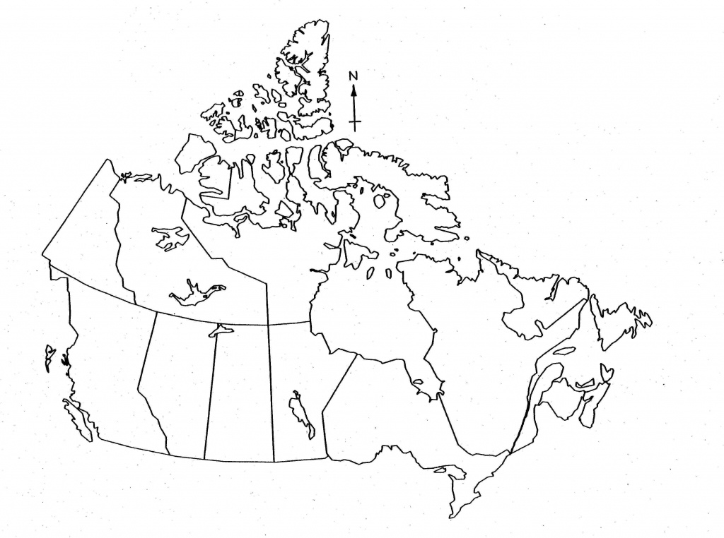Blank Map Of Canada For Kids - Printable Map Of Canada For Kids - Printable Blank Map Of Canada