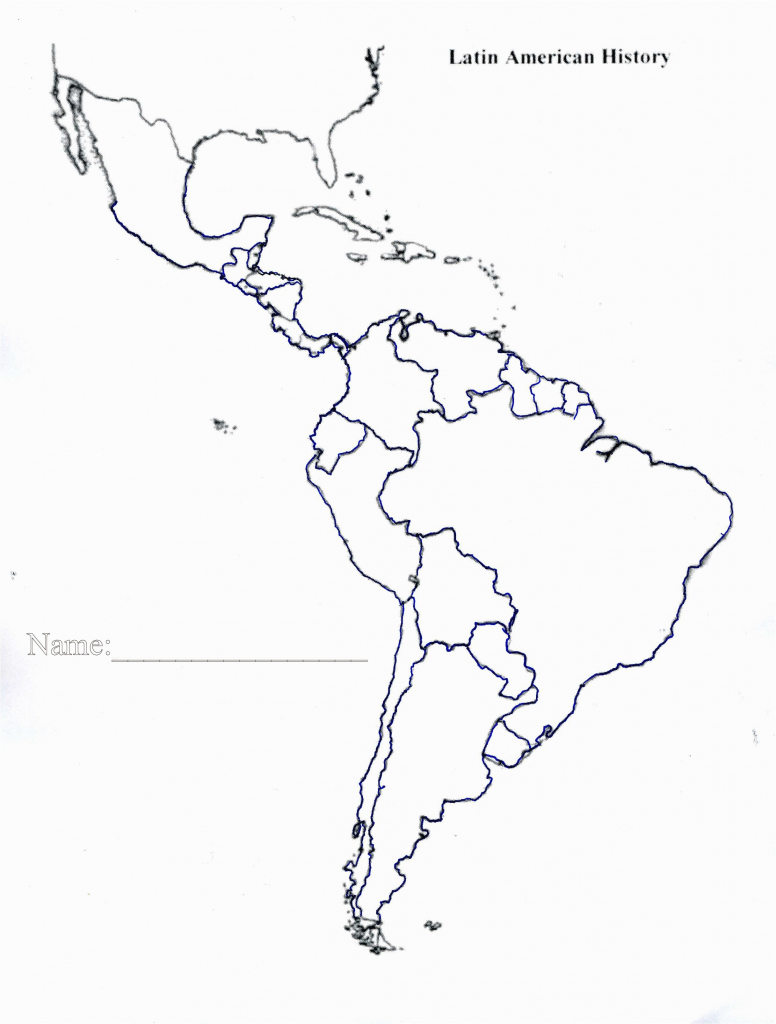 Blank Map Of Central America Best Us States Outline Map Quiz ...