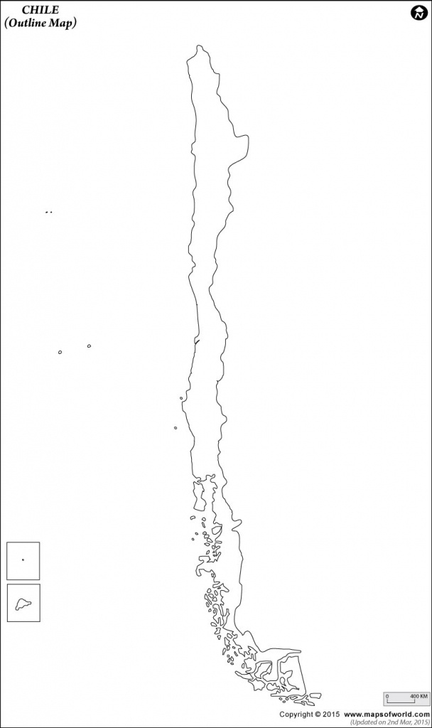 Blank Map Of Chile | Chile Outline Map - Printable Map Of Chile