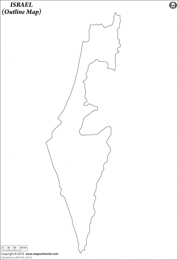 Blank #map Of #israel Is The Best Way To Remember And Recognise The - Blank Map Israel Printable