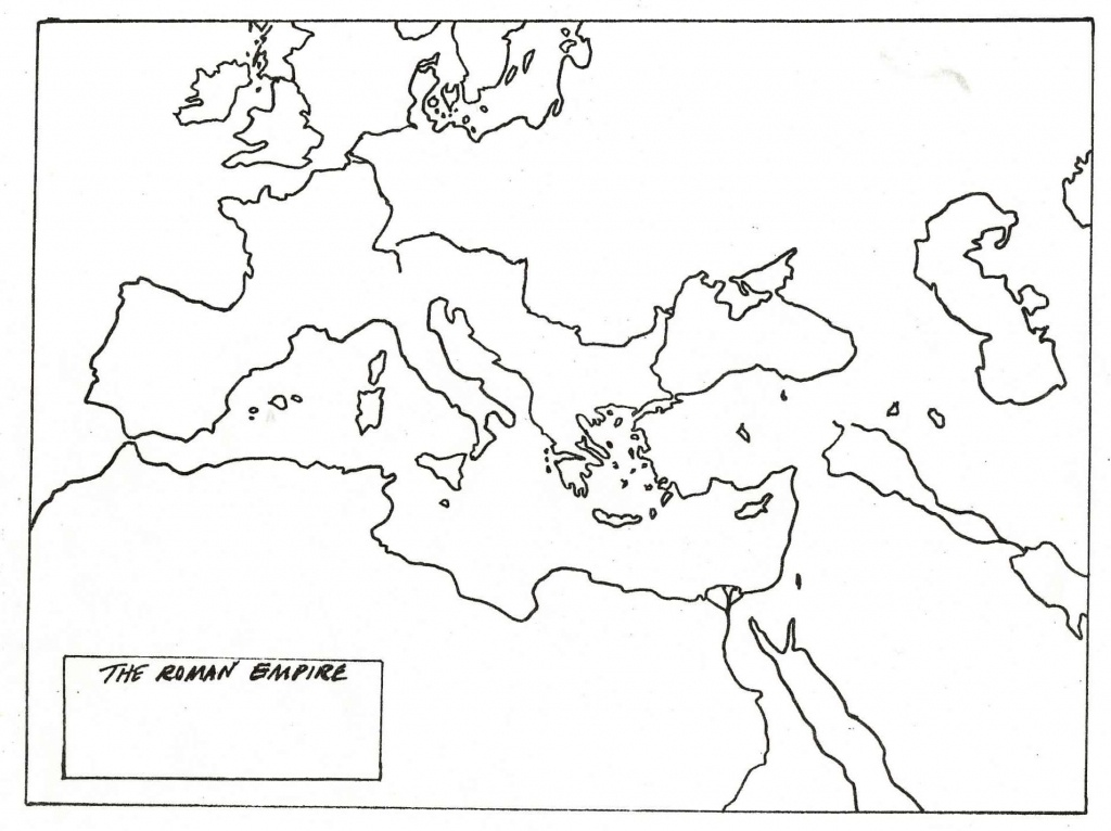 Blank Map Of Roman Empire | Cc History | Roman Empire, Ancient World - Roman Empire Map For Kids Printable Map