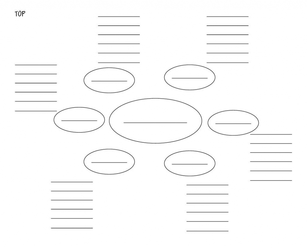 Blank Mind Map Template - Picsant …   Mind Map   Mind … - Blank Mind Map Template Printable