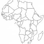 Blank Outline Map Of Africa | Africa Map Assignment | Party Planning   Printable Political Map Of Africa