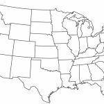 Blank Printable Map Of The Us Clipart Best Clipart Best | Centers   Printable Usa Map Outline