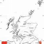 Blank Simple Map Of Scotland   Blank Map Of Scotland Printable