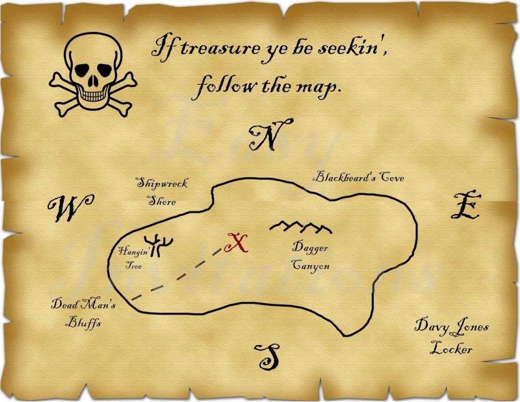 Blank Treasure Map | Ageorgio - Blank Treasure Map Printable