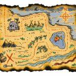 Blank Treasure Map Templates For Children   Printable Treasure Map Template