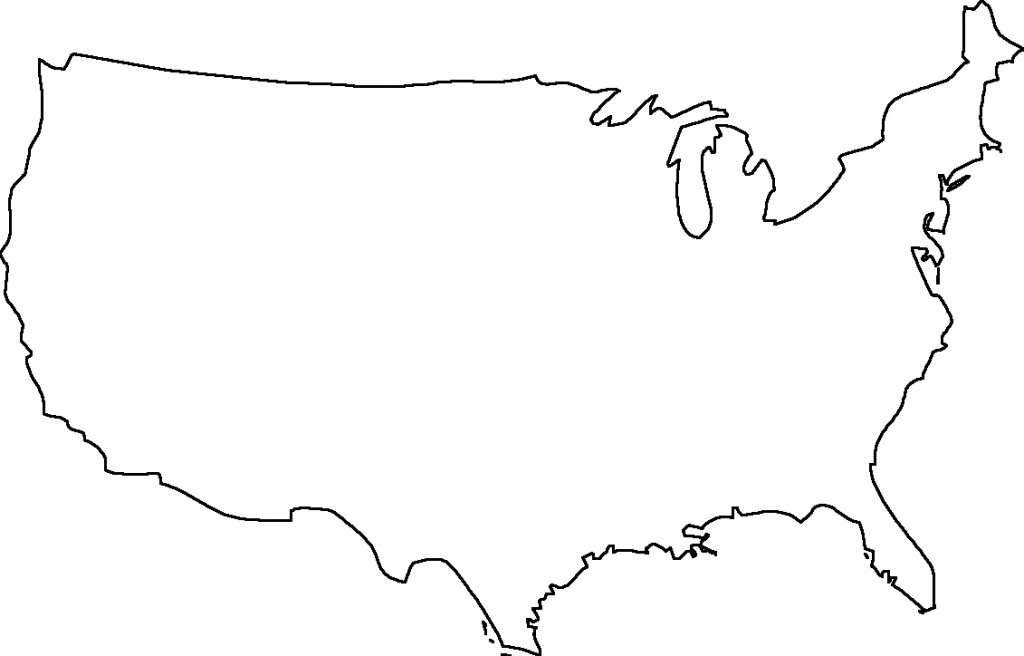 Blank Us Map - Dr. Odd | Geography | United States Map, Map Outline, Map - Printable Usa Map Outline