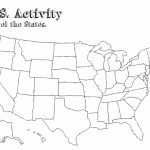 Blank Us Map For Capitals | World Map   Blank States And Capitals Map Printable