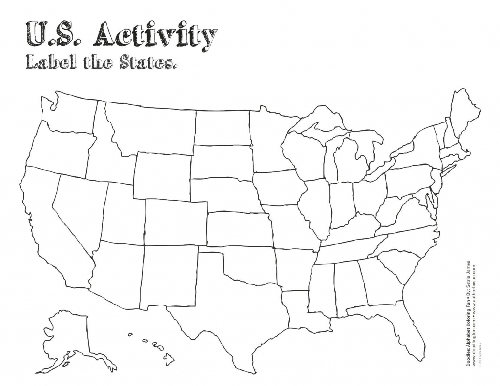 Blank Us State Map Printable Us 50 2 Beautiful United States Map - 50 States Map Blank Printable