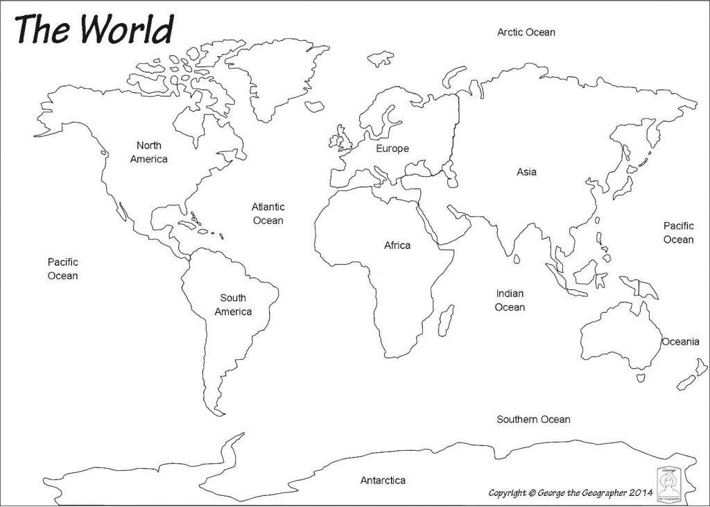 Blank World Map Best Photos Of Printable Maps Political With - Printable World Maps For Students