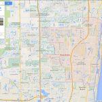 Boca Raton, Florida Map   Boca Delray Florida Map