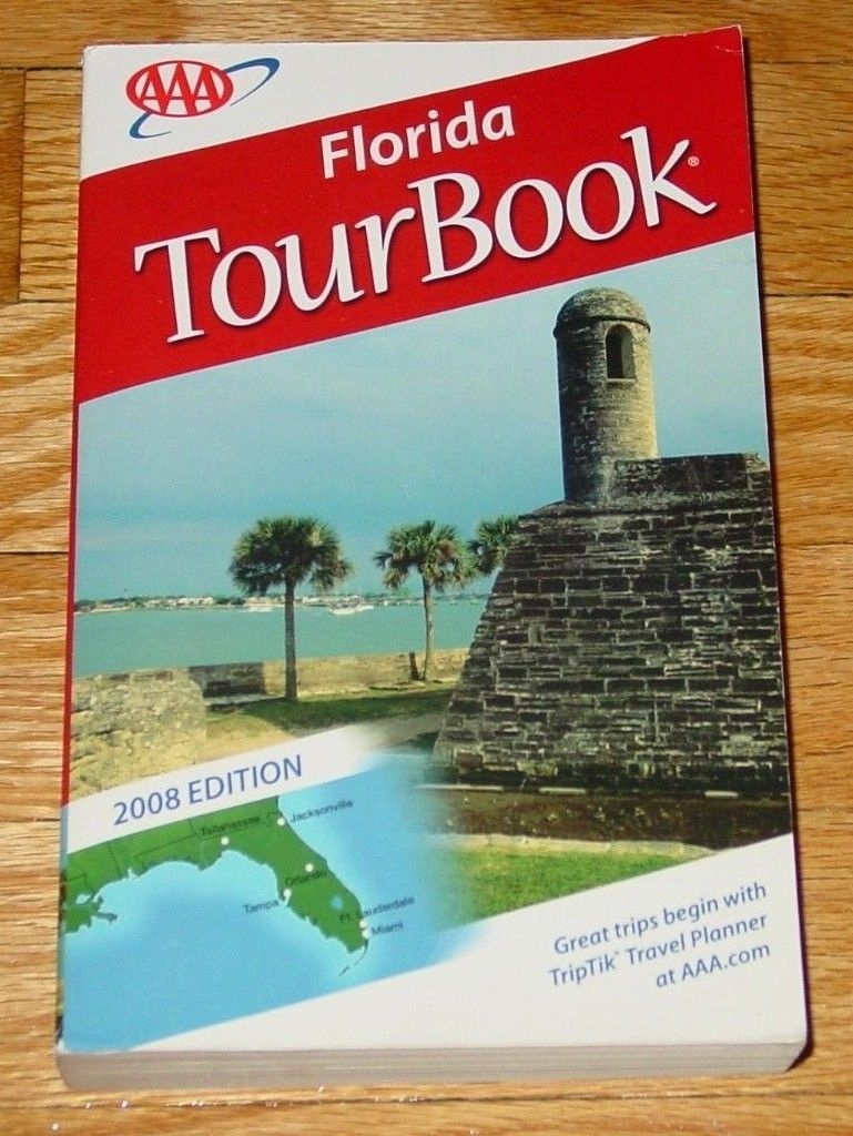 Book Map Aaa Tour Book Florida 2008 Edition And Similar Items - Aaa Maps Florida