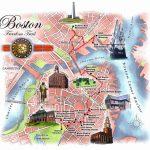 Boston Freedom Trail Map   Freedom Trail Map Boston (United States   Freedom Trail Map Printable