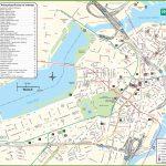 Boston Tourist Attractions Map   Boston Tourist Map Printable