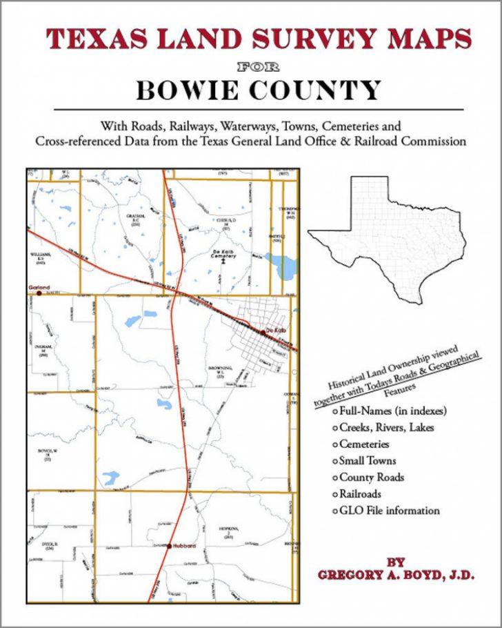 Texas Land Survey Maps
