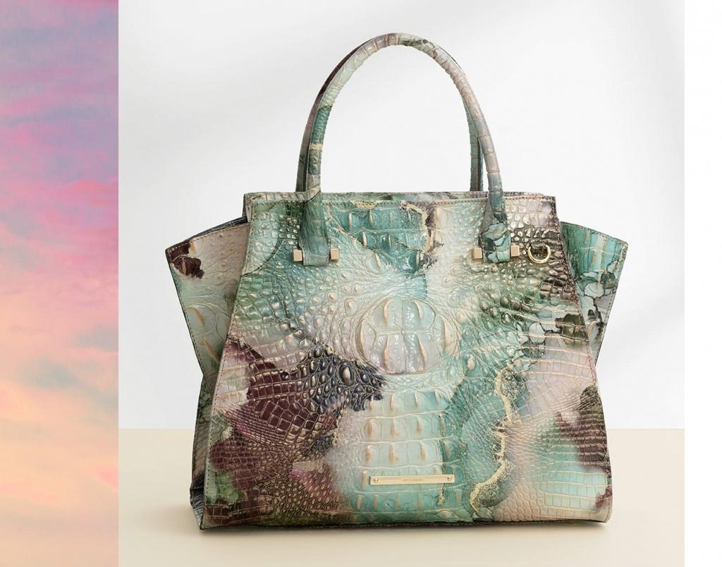 Brahmin | Designer Leather Handbags, Wallets, & Accessories - Florida Map Purse