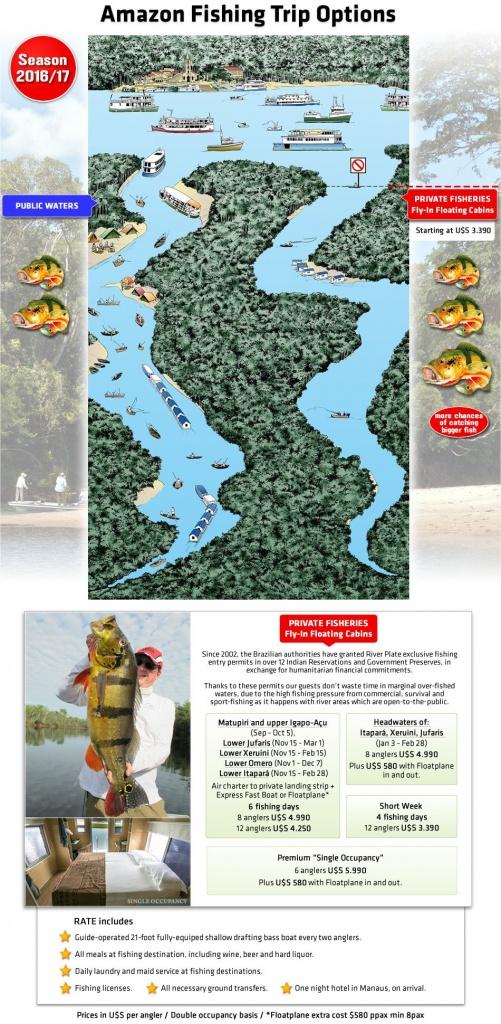 Brazil Amazon Peacock Bass Fishing | Fishing Brazil In 2019 | Brazil - Peacock Bass Florida Map