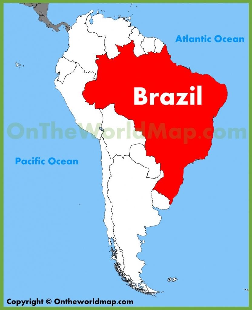 Brazil Maps | Maps Of Brazil - Printable Map Of Brazil