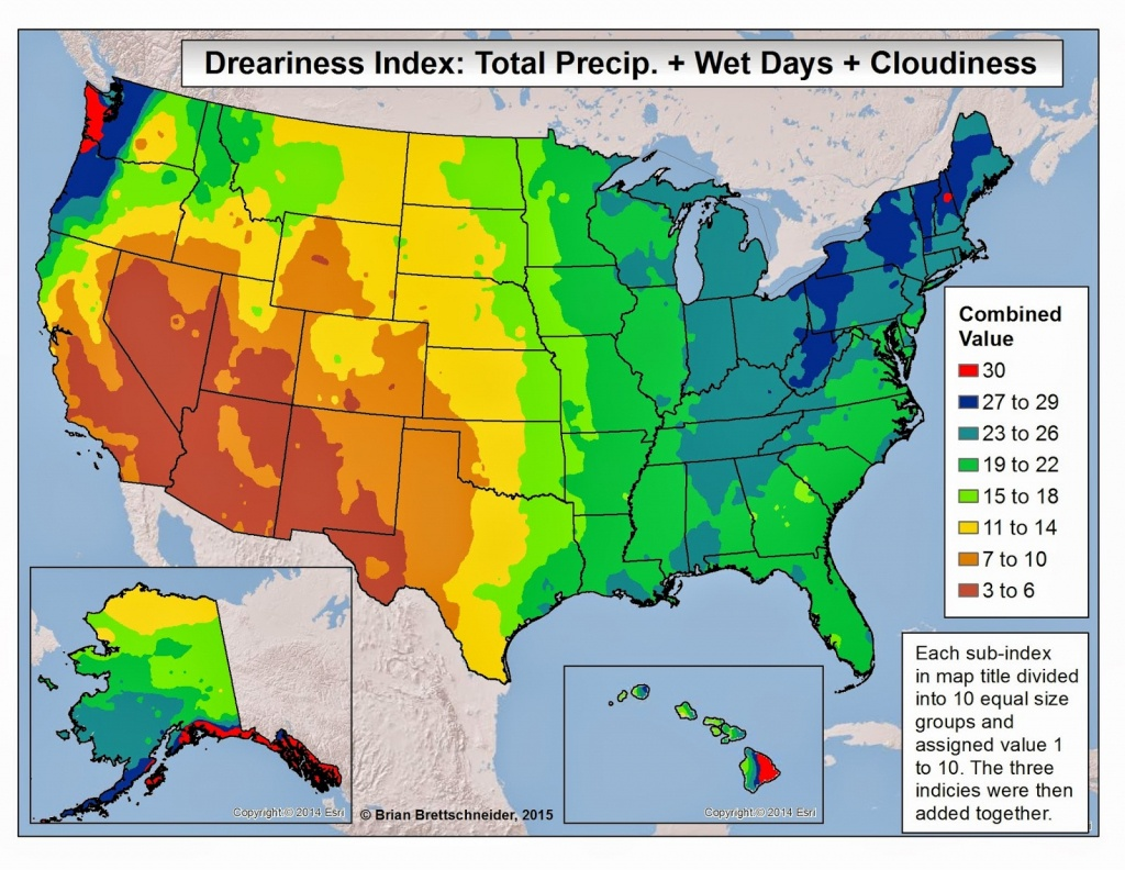 Brian B's Climate Blog: Dreary Weather - Florida Heat Index Map