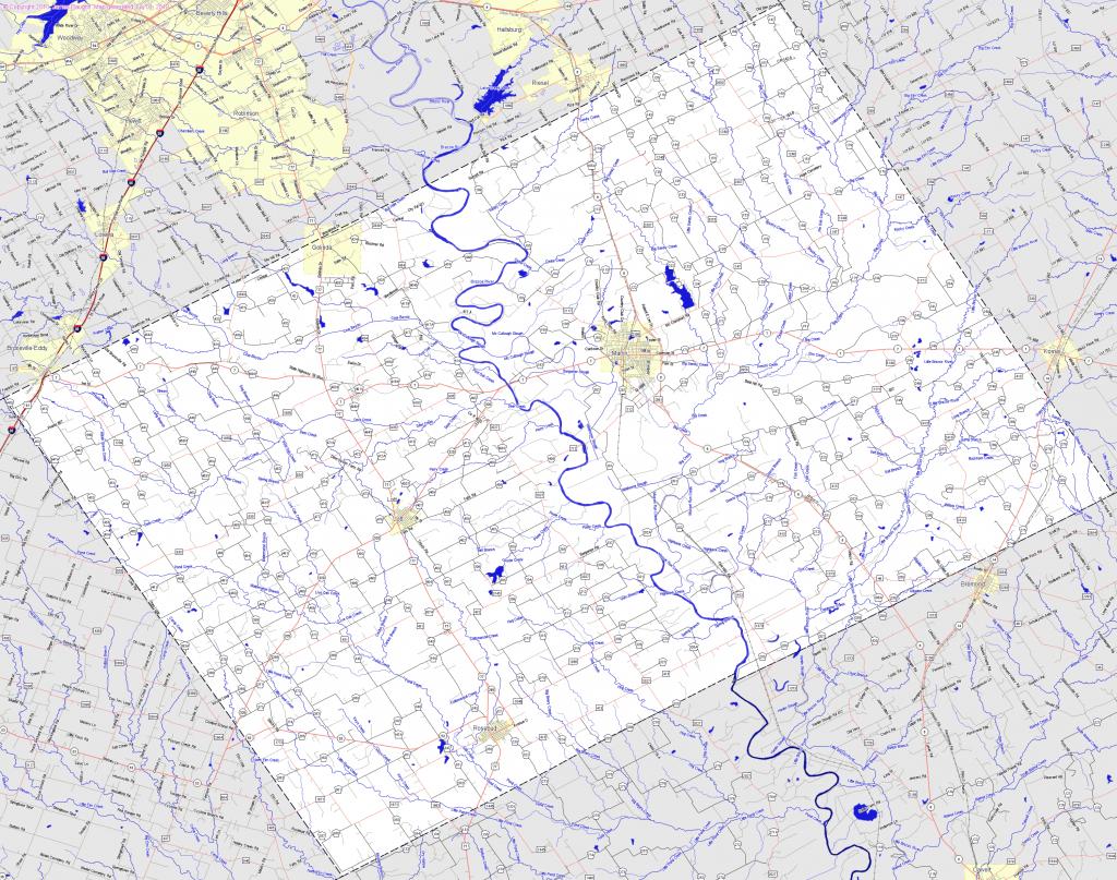 Bridgehunter   Falls County, Texas - Falls County Texas Map