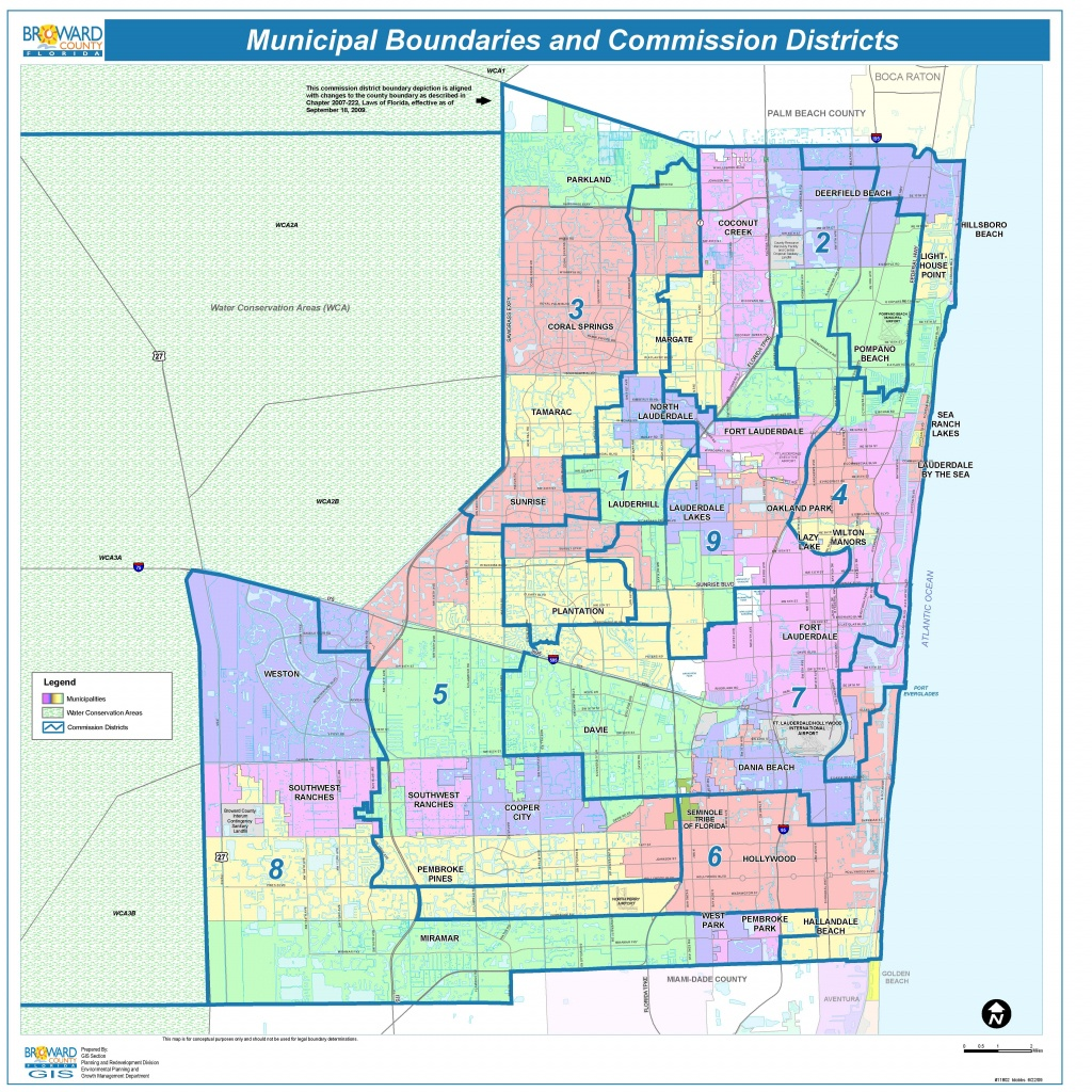 Broward County Map - Check Out The Counties Of Broward - Coconut Creek Florida Map